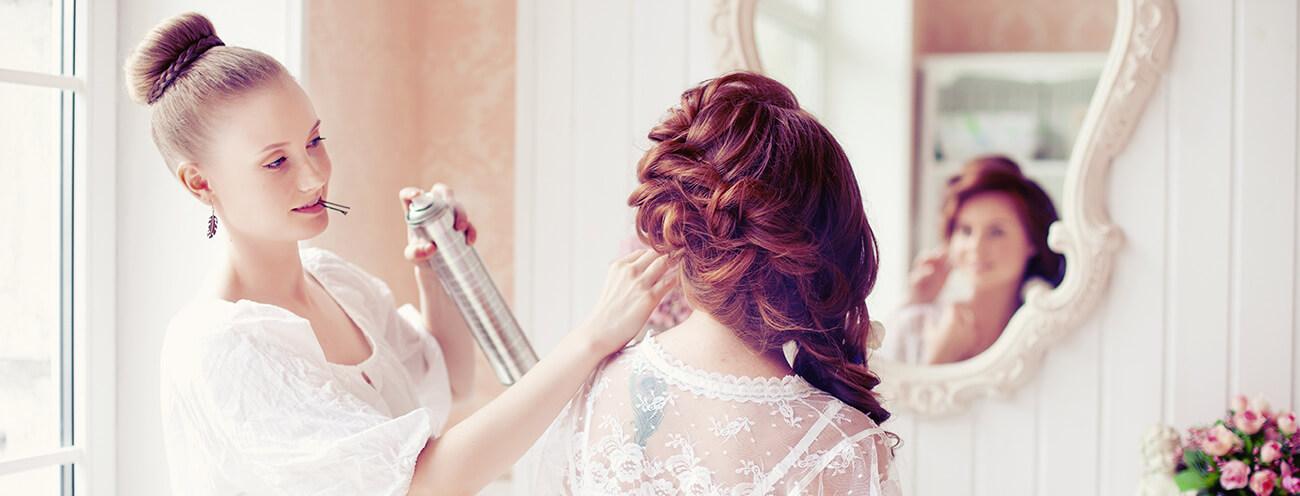 Hochzeitsfriseur, Hochzeitfrisuren, Brautfrisuren, Brautstyling