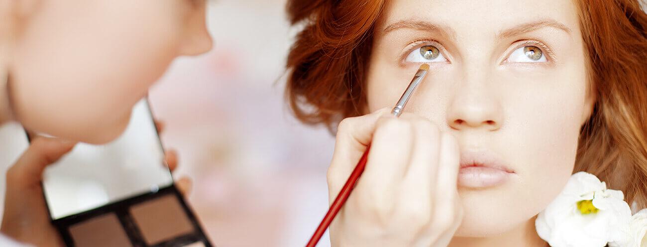 Braut make-up, makeup artist hochzeit, brautstyling