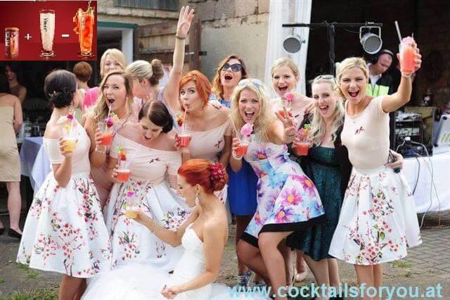 originelle Dienstleister Cocktails für Hochzeit