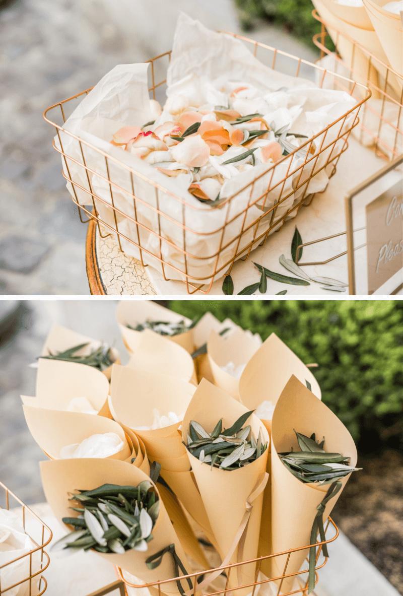 Blumenkonfetti Hochzeit