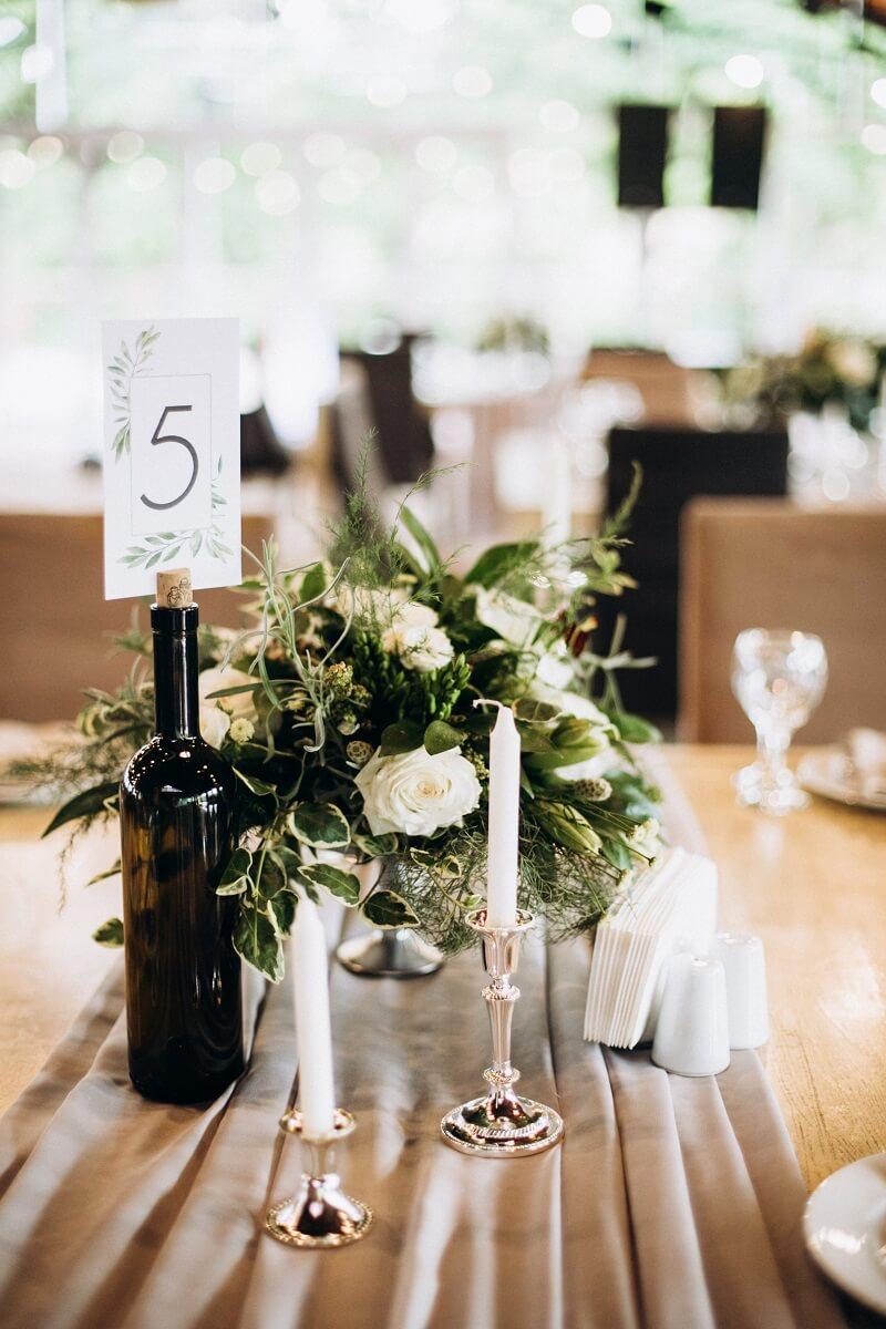 Tischnummern Ideen Hochzeit