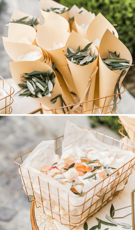 Hochzeitskonfetti Blüten