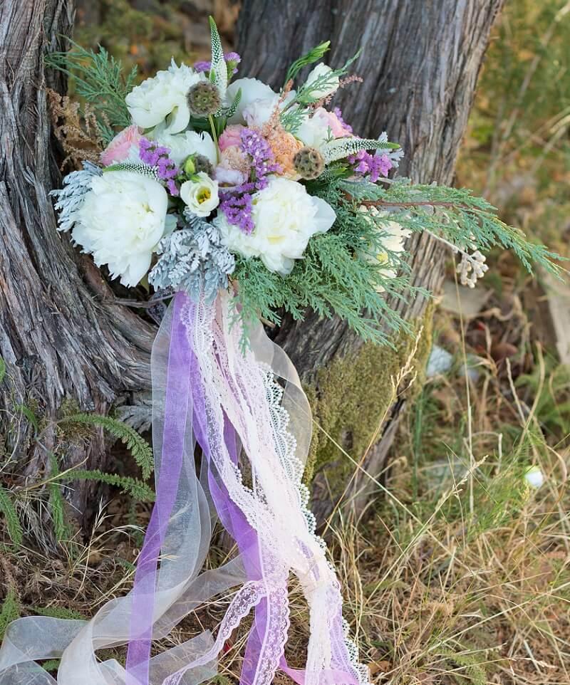 Hochzeit Lavendel, Brautstrauß Lila, Hochzeit Lila
