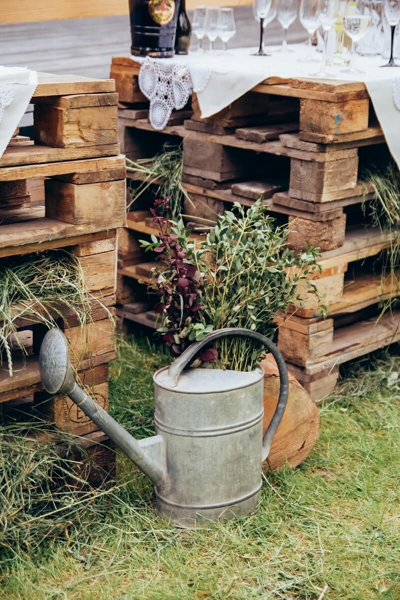 Hochzeitsideen mit Holz