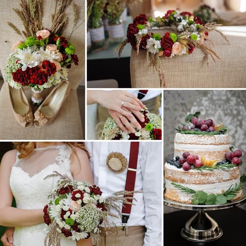 Rustikale Hochzeit Auf Dem Land Inspirationen Hochzeitskiste