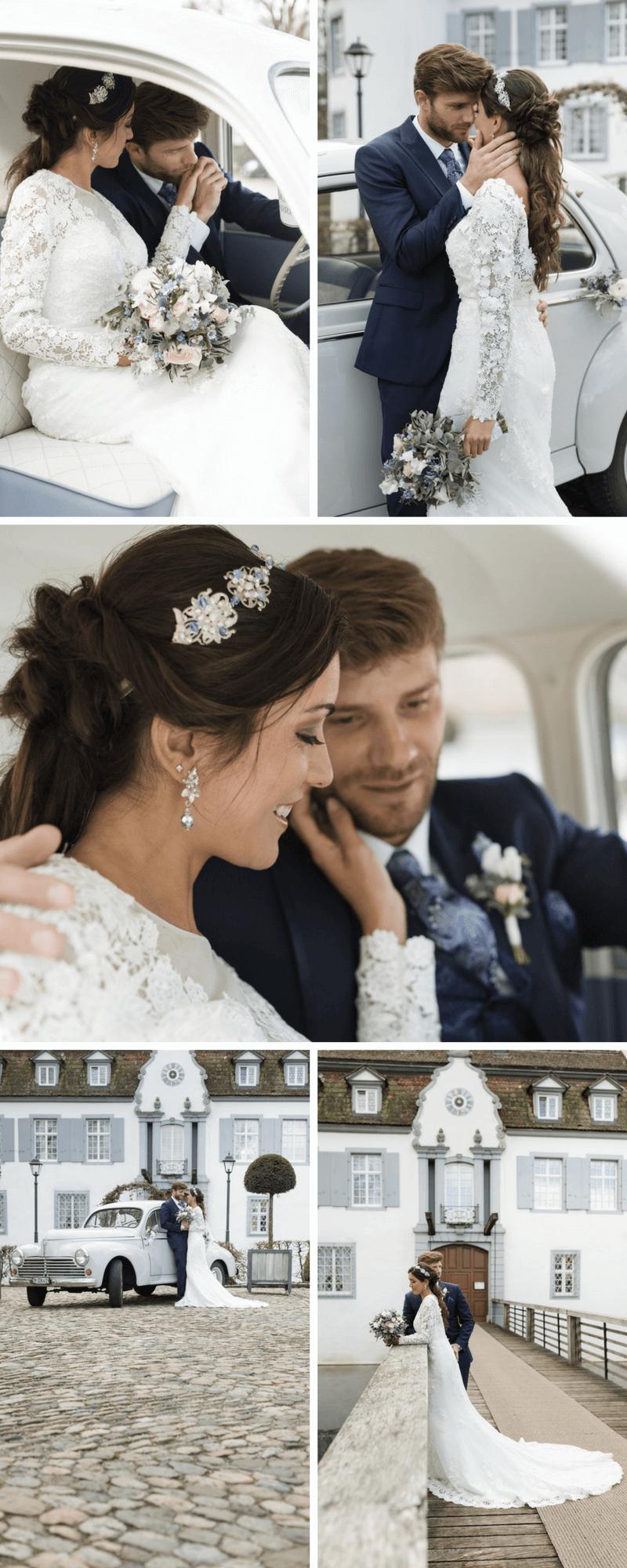 Barock Hochzeit, Hochzeit in Blau, Hochzeitsdeko blau
