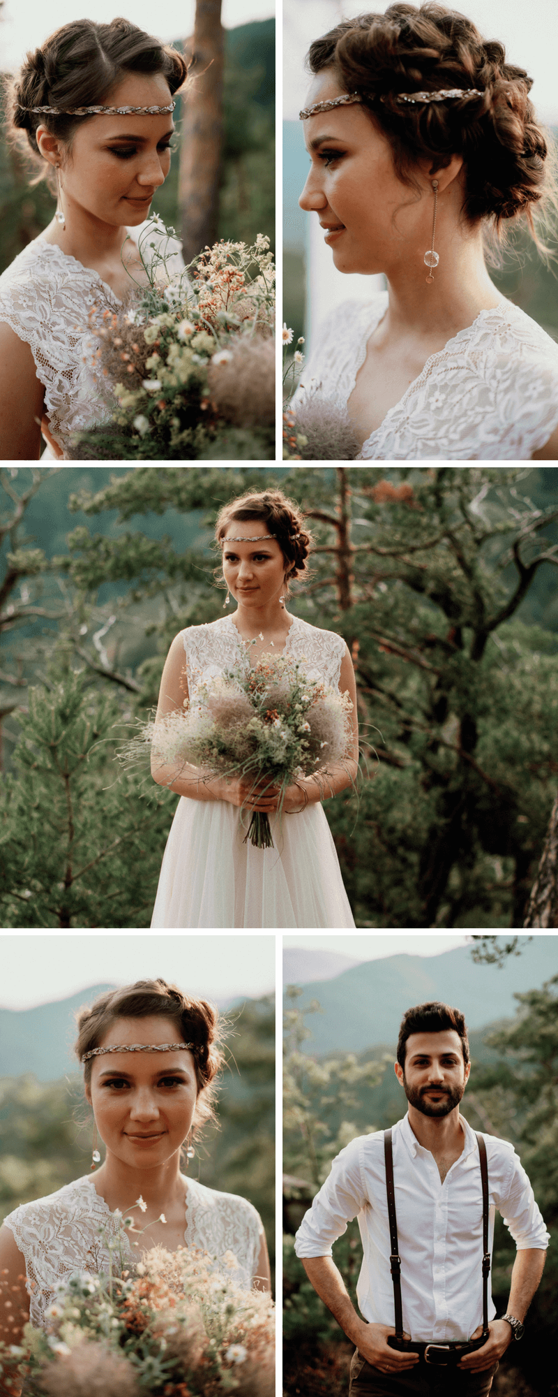 Waldhochzeit, Boho Hochzeit, Hochzeit im Wald