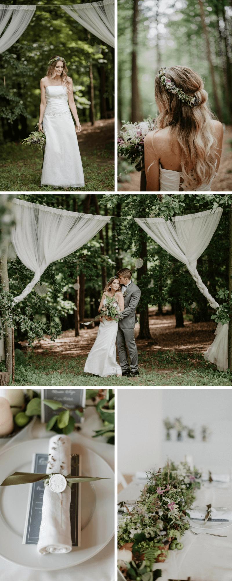 Hochzeitslocation Wald, Waldhochzeit, Hochzeit im Wald, Heiraten im Wald