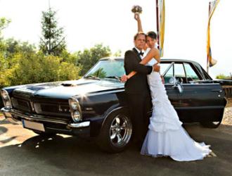 Hochzeitsauto originell, originelles Hochzeitsauto