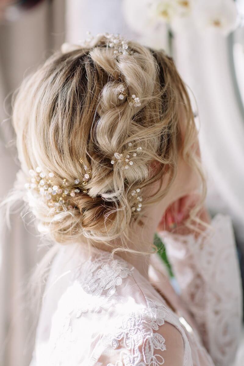 Brautfrisur Hochgesteckt 30 Wunderschone Ideen Hochzeitskiste