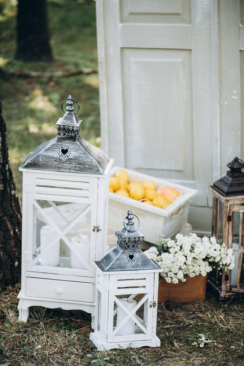 Hochzeitsdeko Zitronen