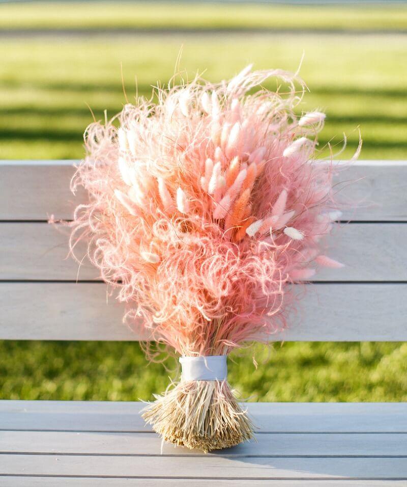 Brautstrauß originell, Brautstrauß mal anders, kreativer Brautstrauß, Hochzeitsstrauß außergewöhnlich