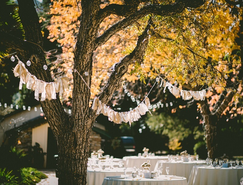 Hochzeitsdeko Herbst, Herbsthochzeit Deko, Hochzeit Herbst Deko
