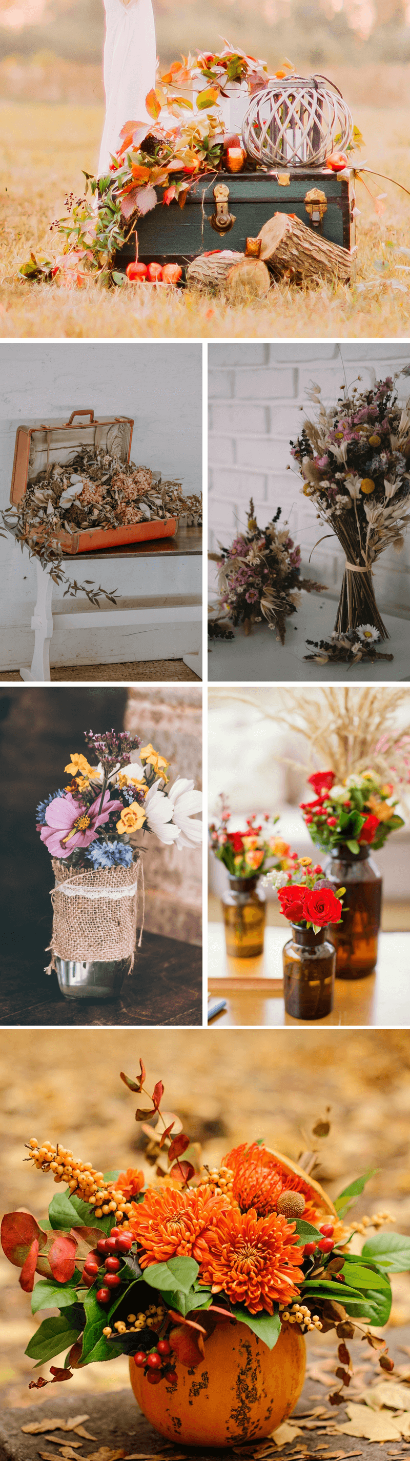 Inspirationen Fur Die Hochzeitsdeko Im Herbst Hochzeitskiste