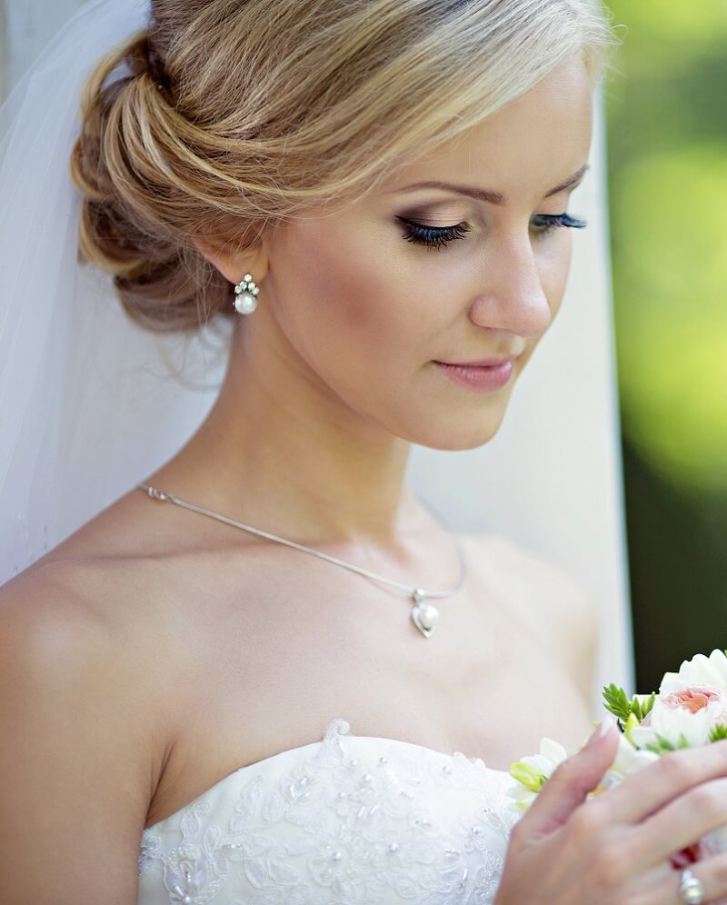 Brautstyling, Braut-Make-up, Braut Makeup, Make-up Ideen Hochzeit