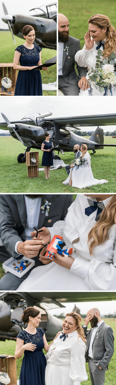 Hochzeit am Flugplatz, Hochzeit Flugzeuge, heiraten flugplatz, Hochzeitsmotto Fliegen