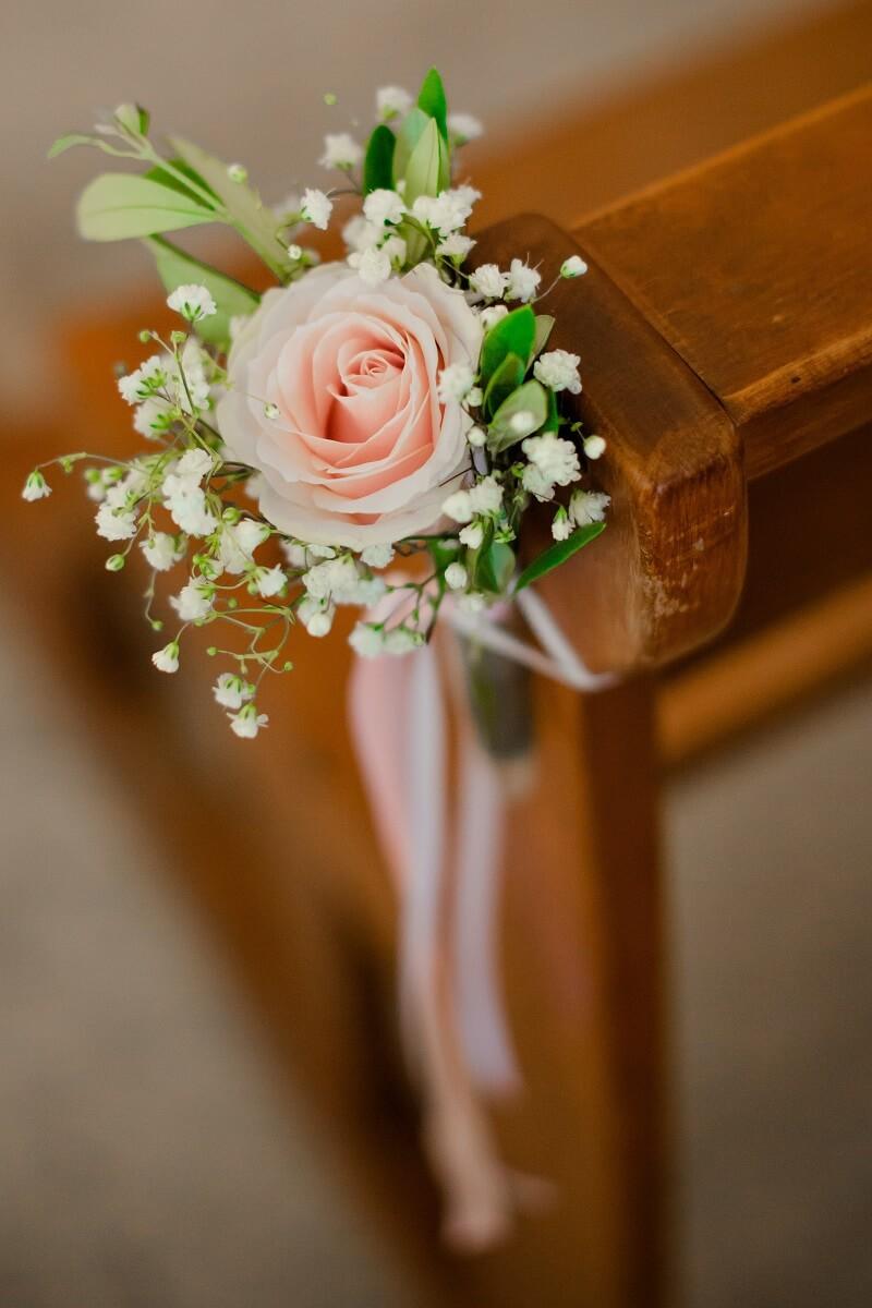 Hochzeitsdeko Rosa, Rosa Hochzeitsdeko, Hochzeit Rosa, Hochzeit in Rosa, Kirchendeko
