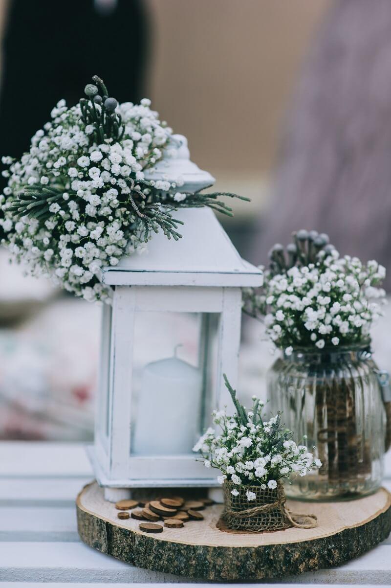 Schleierkraut Hochzeit, Schleierkraut Hochzeitsdeko, Blumendeko Schleierkraut