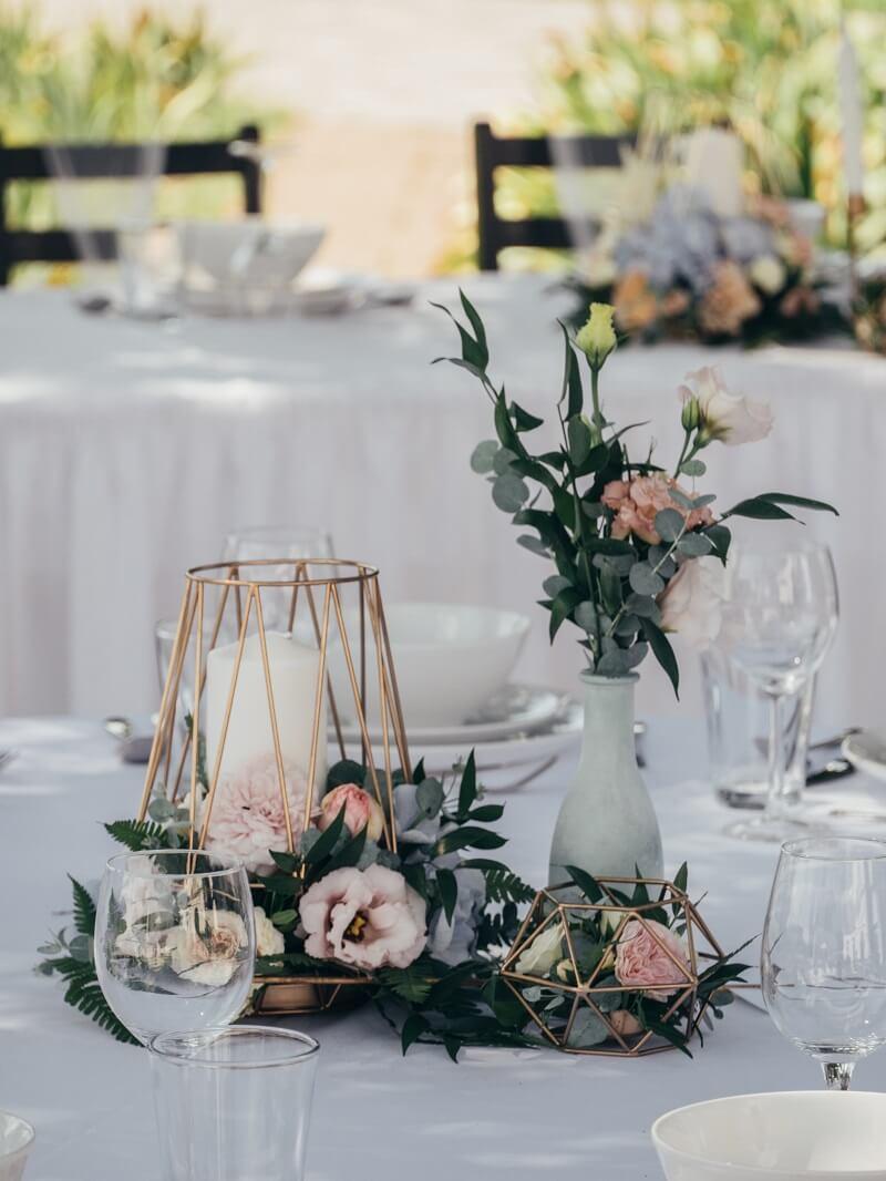 Hochzeits Tischdeko 40 Wunderschöne Ideen Für Runde Tische