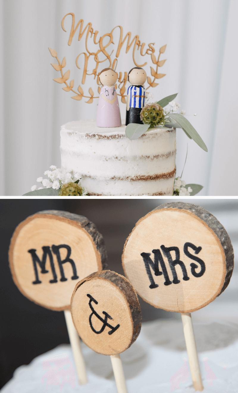 Cake Topper Hochzeit, Cake Topper lustig, Hochzeitstorte Cake Topper, DIY Cake Topper, Cake Topper Holz