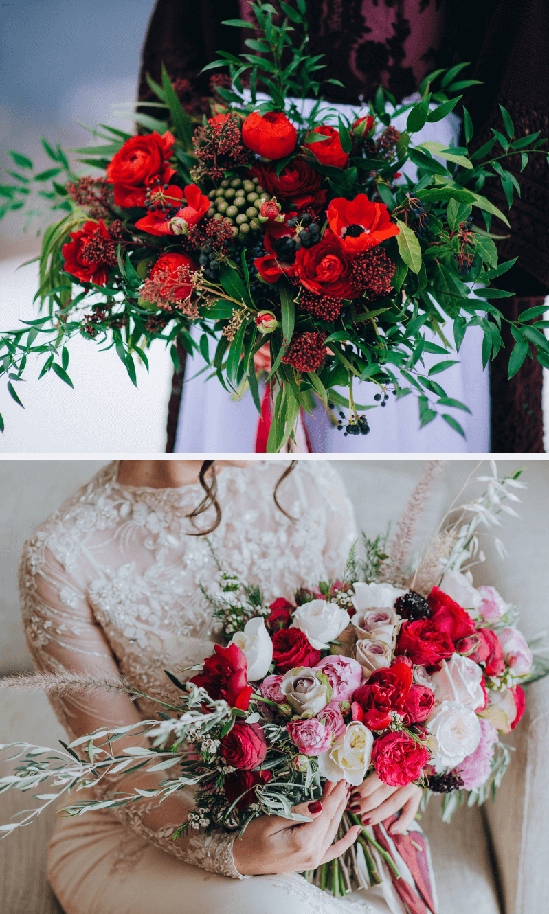 XXL Brautstrauß Ideen, Brautstrauß groß, Brautstrauß wild