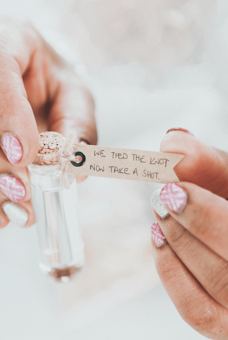 DIY Gastgeschenke, Hochzeit Gastgeschenk