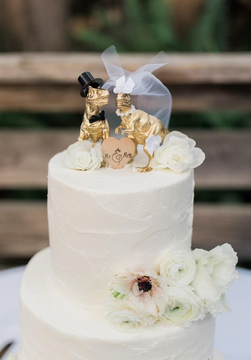 origineller Cake Topper Hochzeit