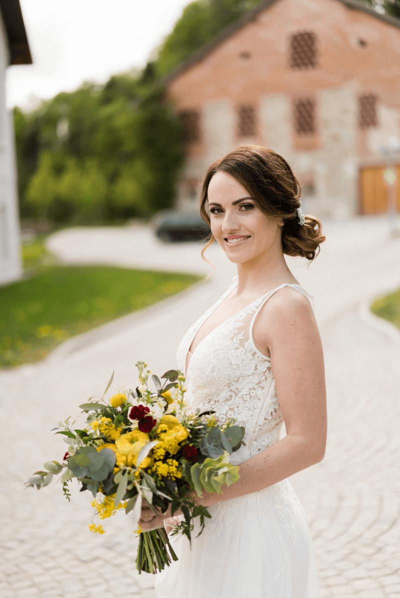 Hochzeit im Grünen, Hochzeit elegant, Hochzeit grün, Hochzeit gelb, Hochzeit gold, Hochzeit draußen