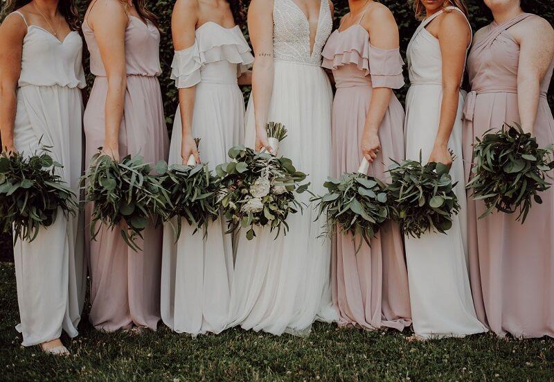 Brautstrauß Brautjungfern