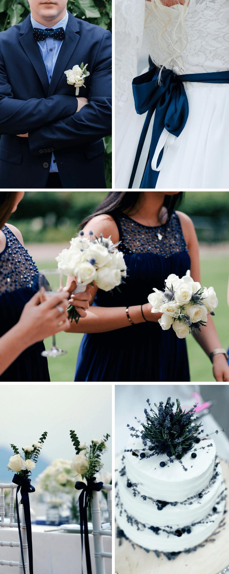 Hochzeit in dunkelblau | Ideen