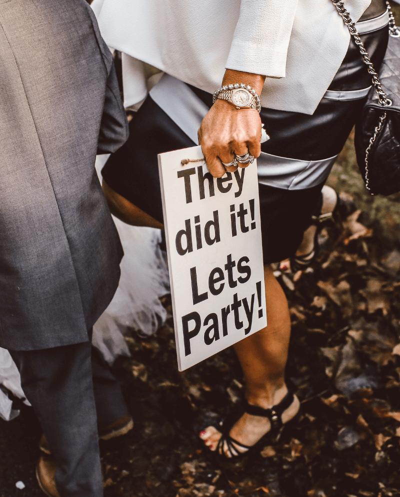 Hochzeit Schilder Ideen