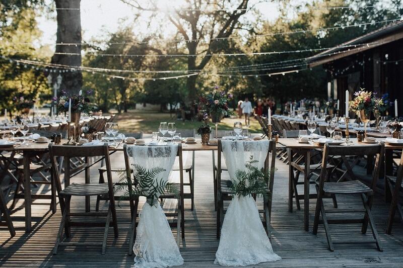 Outdoor Hochzeit Ideen
