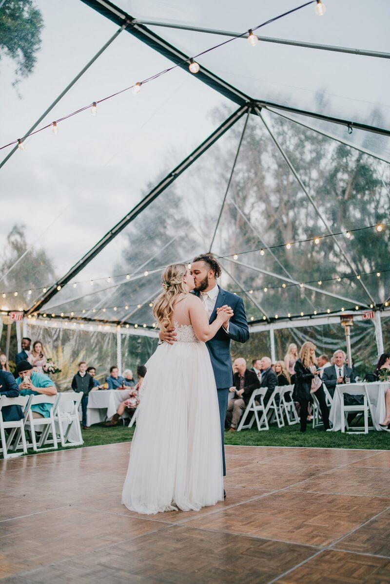 Hochzeitslocation Zelt