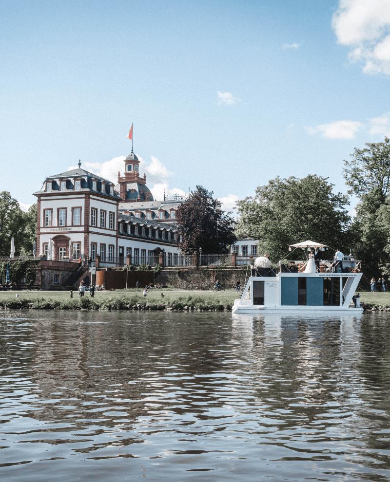 Heiraten auf einem Hausboot