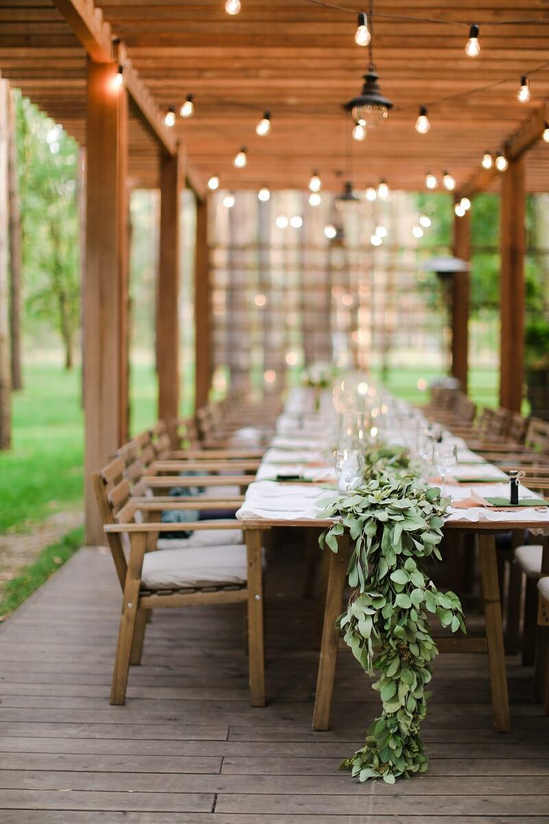 Tischgirlande Hochzeit