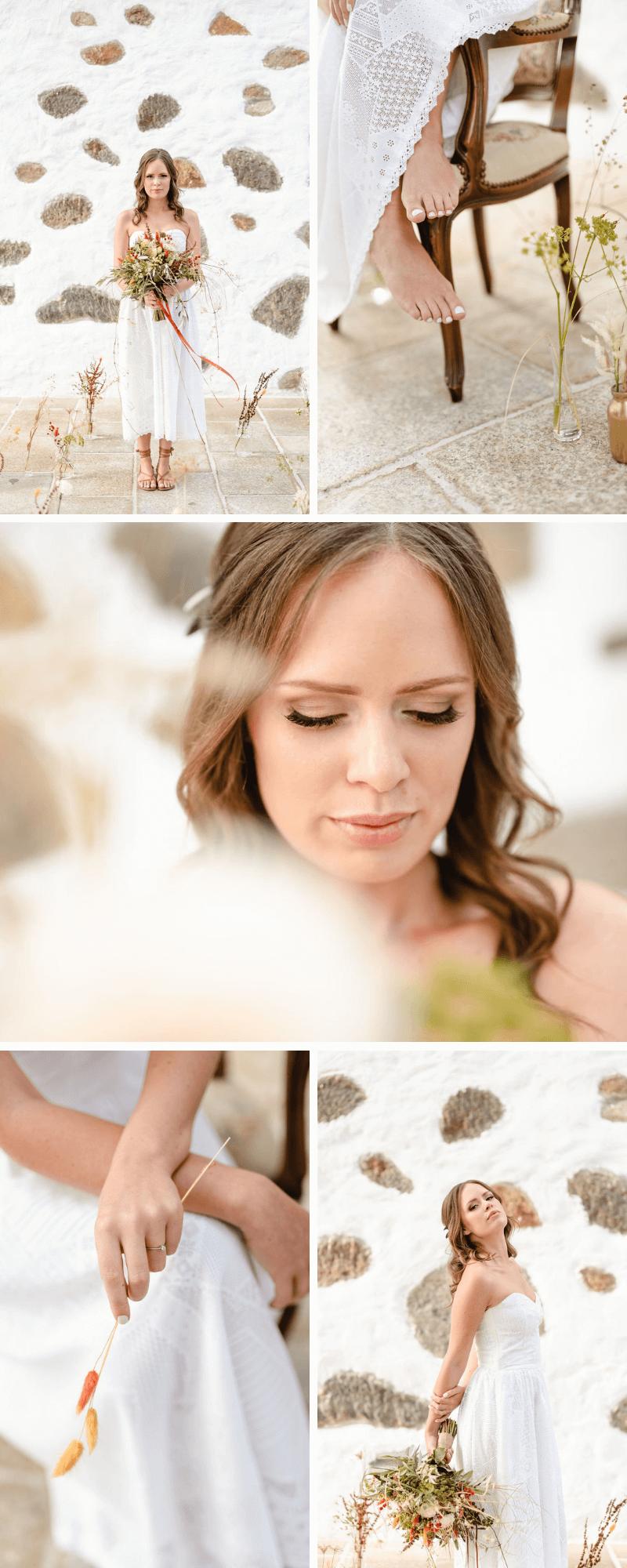 Brautstyling natürlich