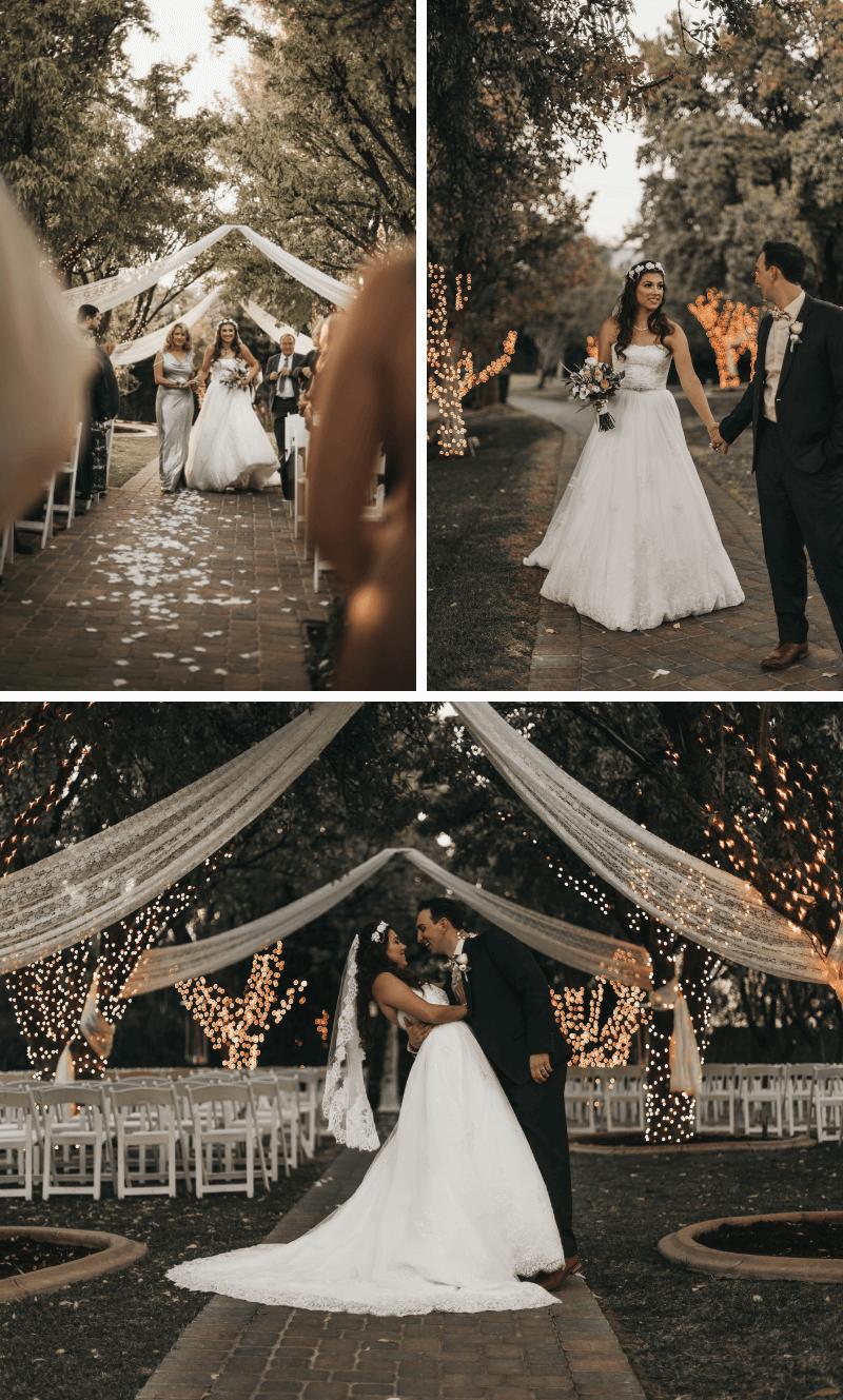 Hochzeit im Freien, Hochzeitsbogen Baum, Hochzeitsdeko Trauung