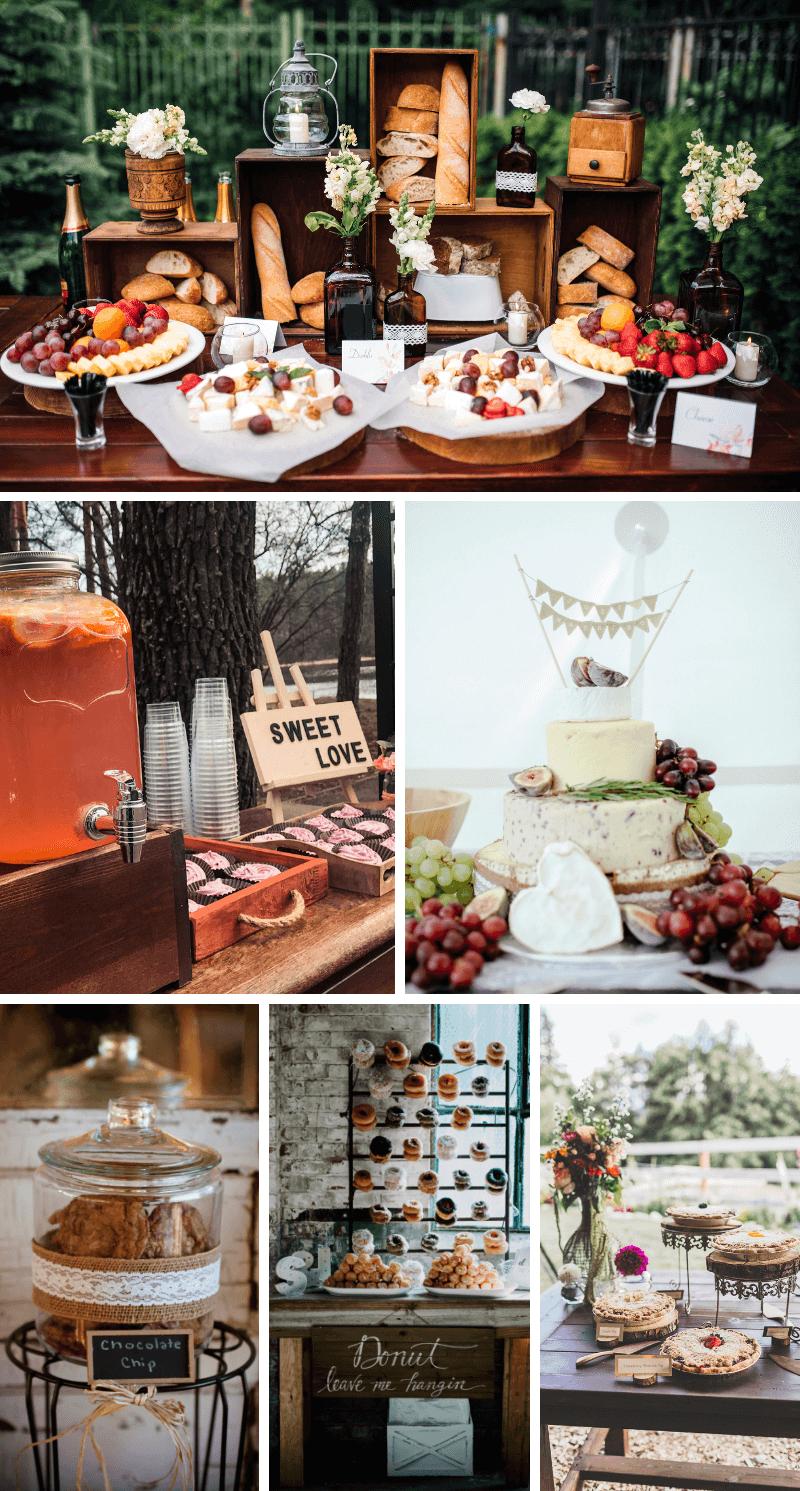 Ideen Catering Hochzeit, Buffet Hochzeit Ideen