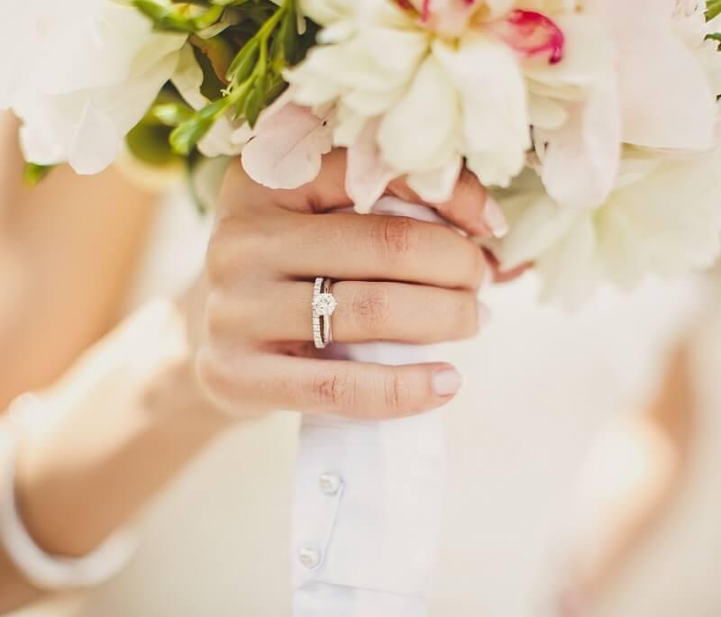 Ehering als Vorsteckring, Memoire Ring