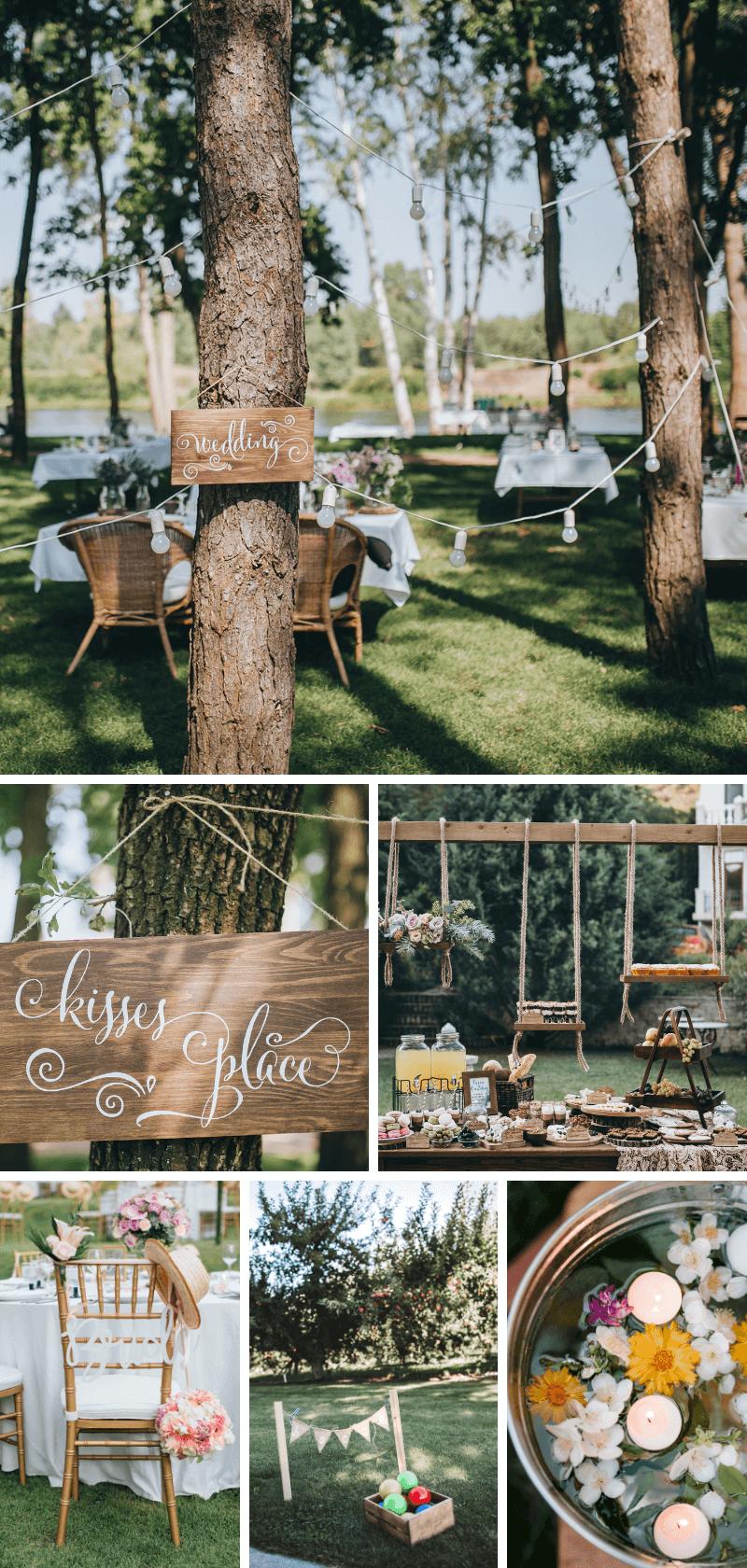 Gartenparty Hochzeit
