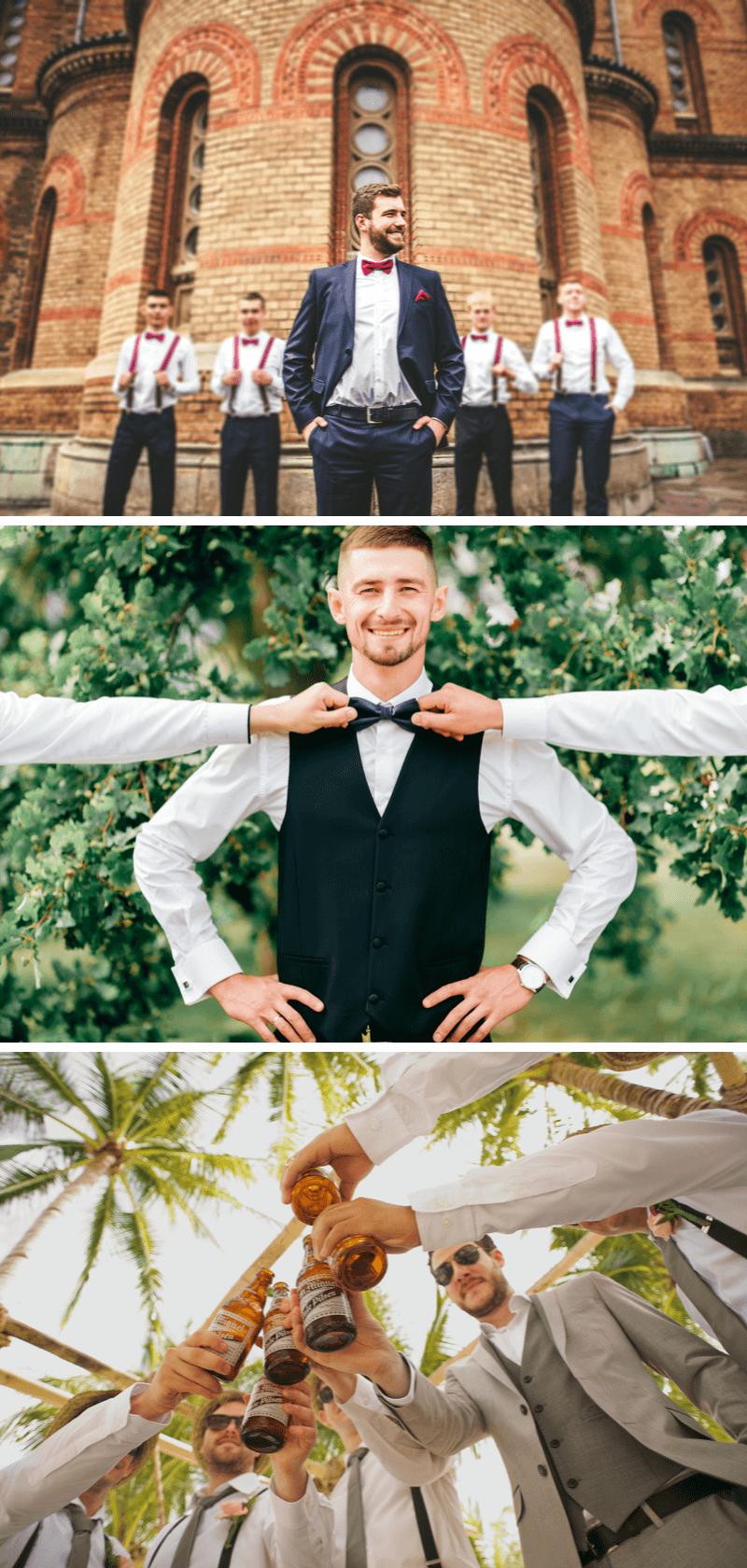 Fotos Bräutigam mit Jungs