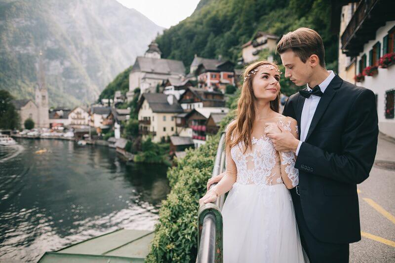 Hochzeitsreise Österreich Hallstatt