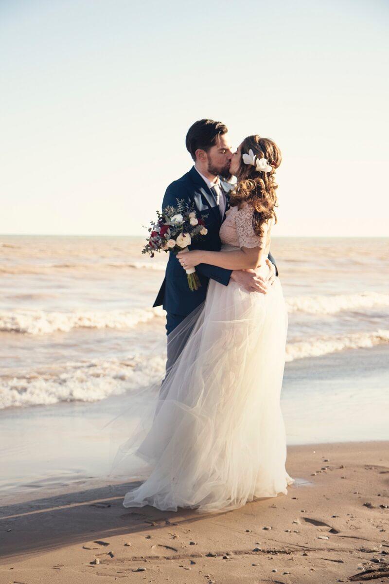 Hochzeitsfotos Strand