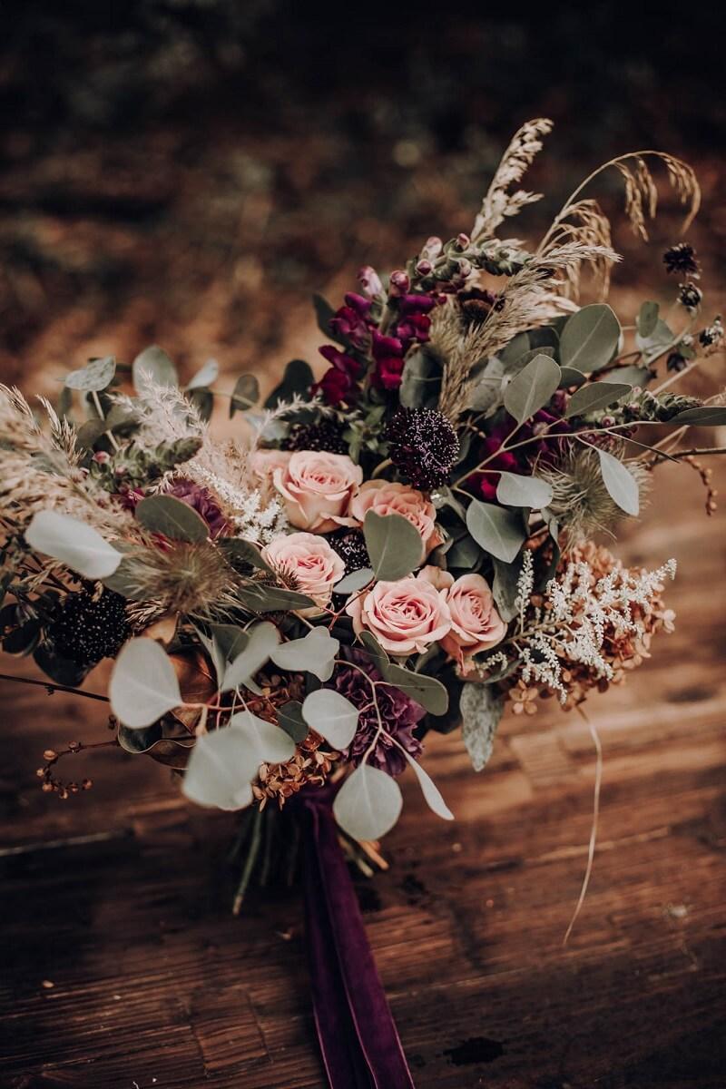 Boho Brautstrauß