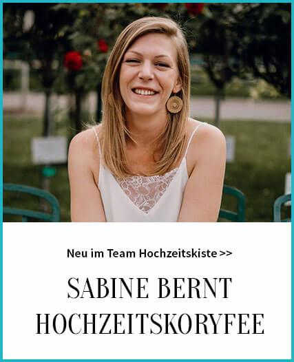 Sabine Bernt - Hochzeitskoryfee