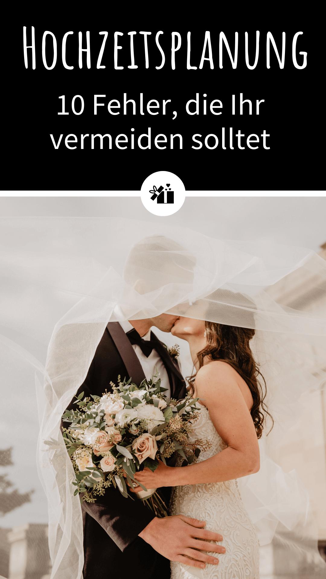 Hochzeitsplanung Fehler