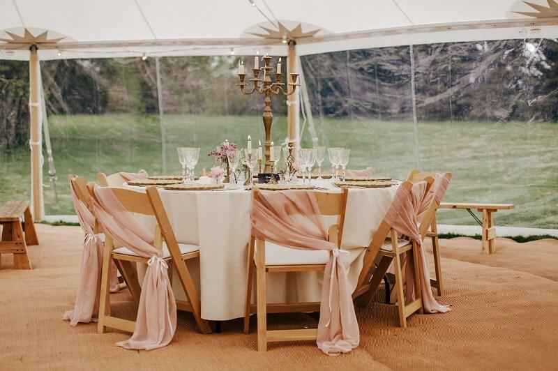 Hochzeit Zelt