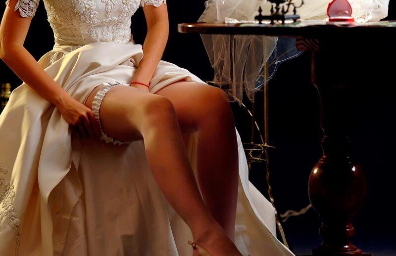 Strumpfband Hochzeit