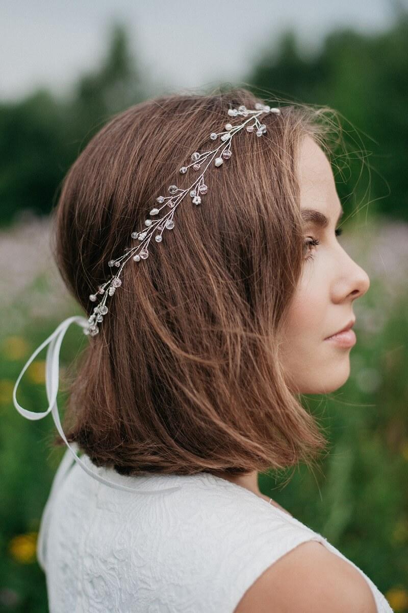 Braut Schmuck Ideen, Haarband