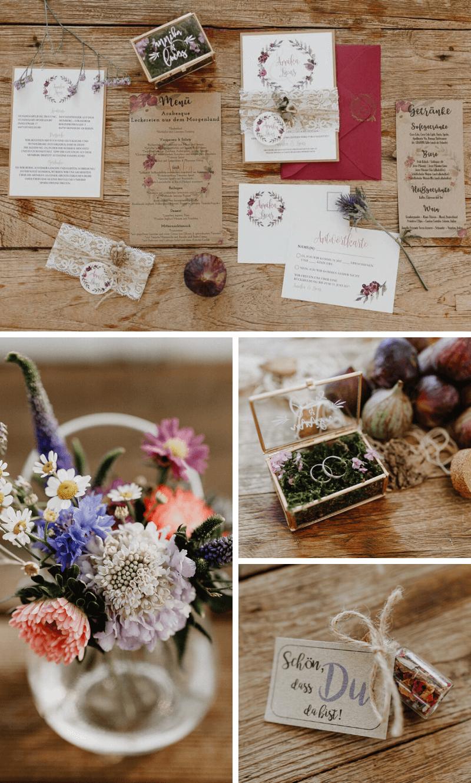 Boho Hochzeit Karten